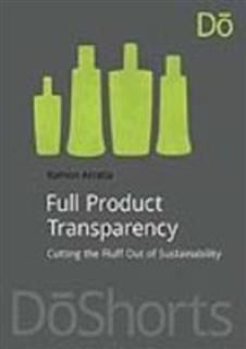 Full Product Transparency, Ramon Arratia