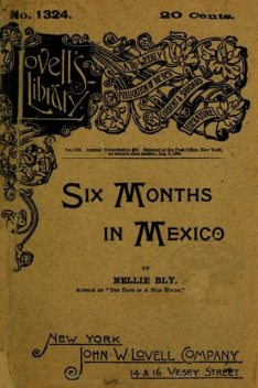 Six Months in Mexico, Nellie Bly
