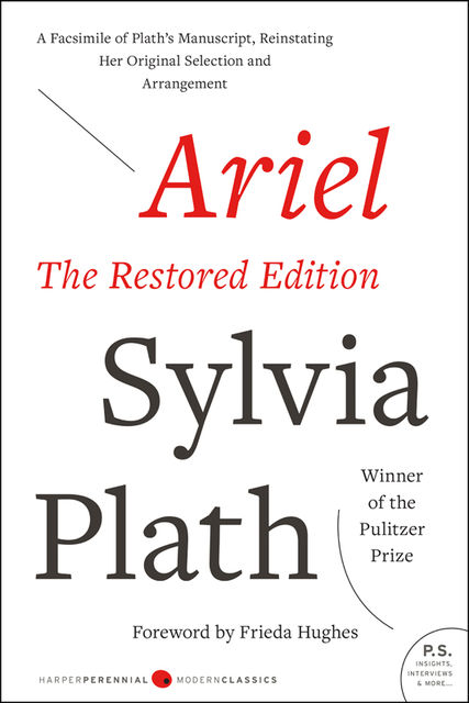 Ariel: The Restored Edition, Sylvia Plath