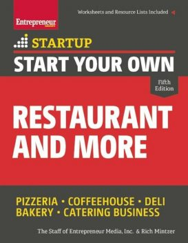 Start Your Own Restaurant and More, Rich Mintzer