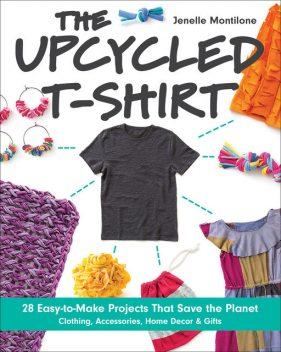 Upcycled T-Shirt, Jenelle Montilone