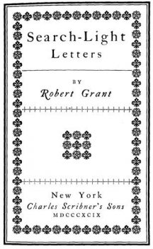 Search-Light Letters, Robert Grant