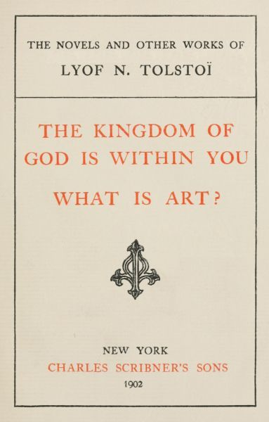What is Art?, Leo Tolstoy