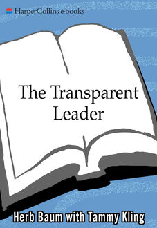 The Transparent Leader, Herb Baum, Tammy Kling
