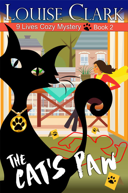 The Cat's Paw (The 9 Lives Cozy Mystery Series, Book 2), Louise Clark