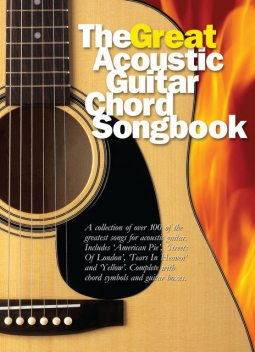 The Great Acoustic Guitar Chord Songbook, Wise Publications