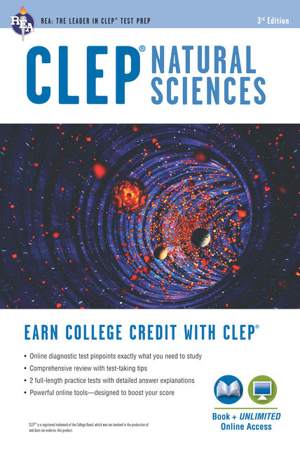 CLEP® Natural Sciences Book + Online, Laurie Ann Callihan