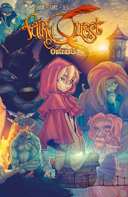 Fairy Quest: Outcasts #1, Paul Jenkins