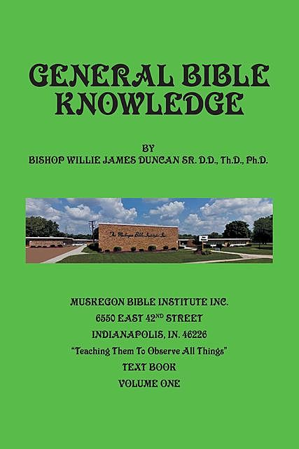 General Bible Knowledge, Willie Duncan