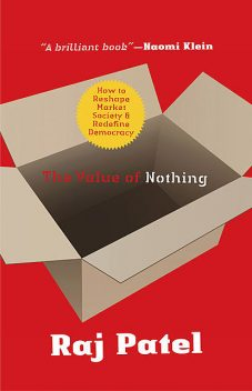 The Value of Nothing, Raj Patel