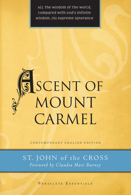 Ascent of Mount Carmel, John of the Cross