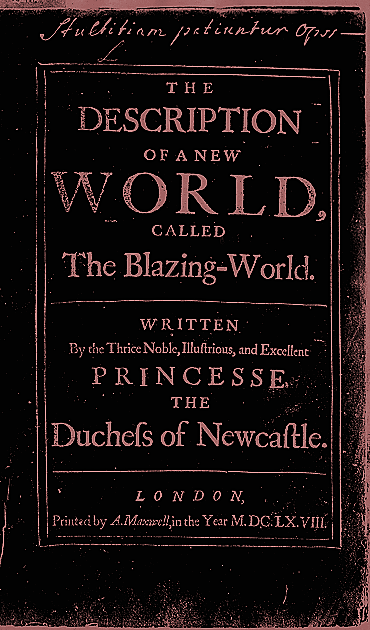 The Blazing World, Margaret Cavendish