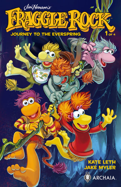 Jim Henson's Fraggle Rock: Journey to the Everspring #1, Kate Leth