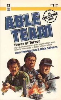 Tower of Terror, Don Pendleton, Dick Stivers