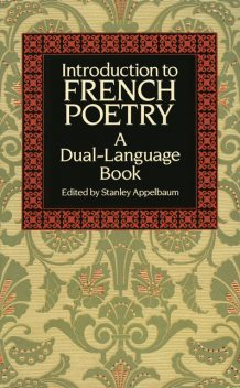 Introduction to French Poetry, Stanley Appelbaum