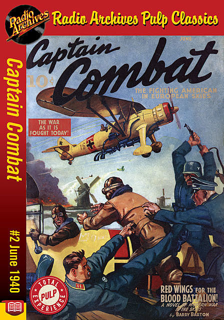 Captain Combat #2 June 1940 Red Wings fo, Barry Barton