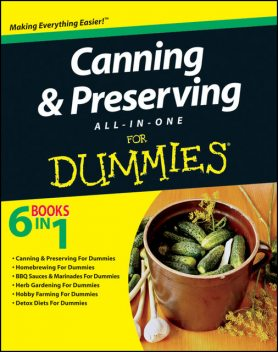 Canning and Preserving All-in-One For Dummies, et.al., Eve Adamson