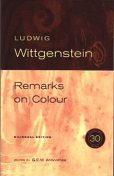 Remarks on Colour, Ludwig Wittgenstein