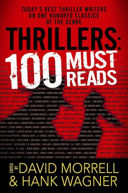 Thrillers: 100 Must-Reads, David Morrell, Hank Wagner