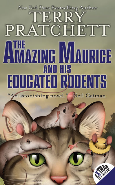Discworld 28 - The Amazing Maurice and His Educated Rodents, Terry David John Pratchett