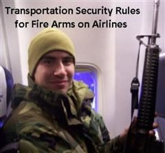 Transportation Security Rules for Fire Arms on Airlines, 99 Cent eBooks