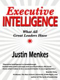 Executive Intelligence, Justin Menkes
