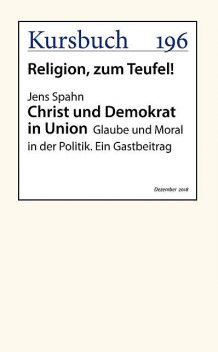 Christ und Demokrat in Union, Jens Spahn