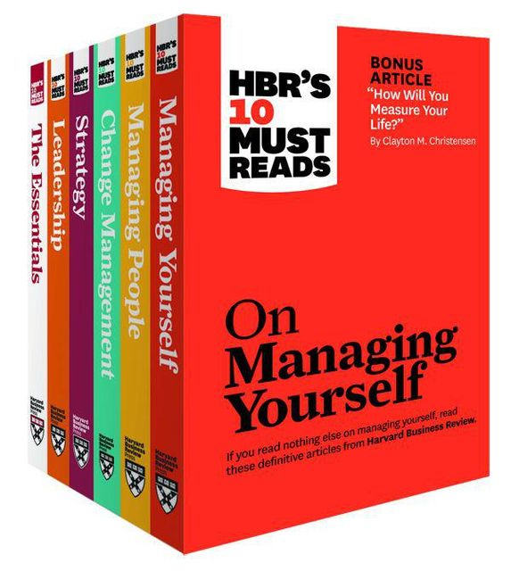 HBR's Must Reads Digital Boxed Set, Harvard Business Review