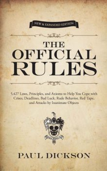 The Official Rules, Paul Dickson
