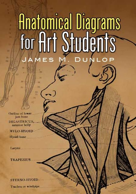 Anatomical Diagrams for Art Students, James M.Dunlop