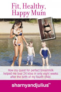 Fit, Healthy, Happy Mum, Julius Kieser, Sharny Kieser
