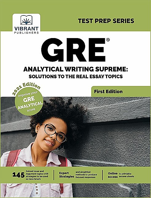 GRE Analytical Writing Bible, Vibrant Publishers