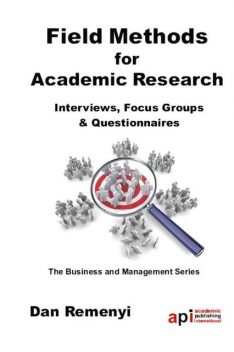 Field Methods for Academic Research, Dan Remenyi