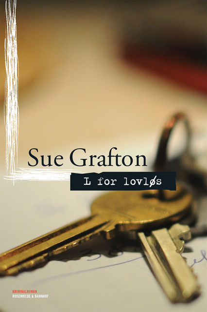 L for lovløs, Sue Grafton