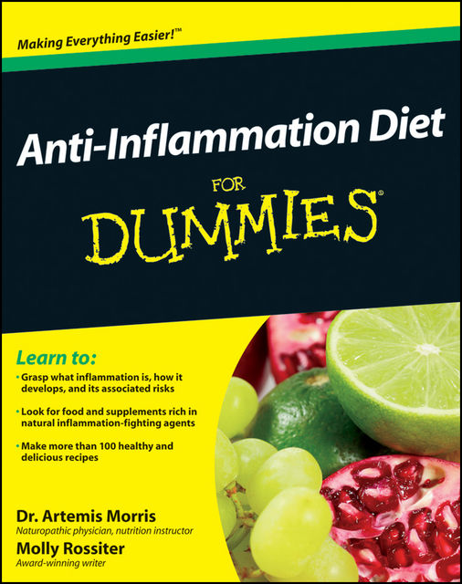 Anti-Inflammation Diet For Dummies, Molly Rossiter