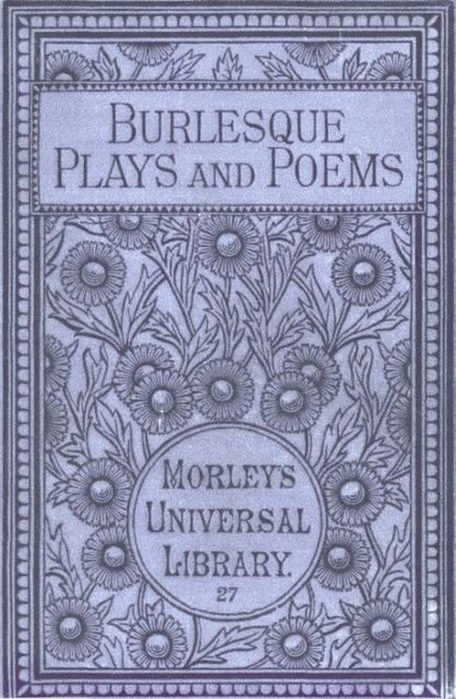 Burlesque Plays and Poems, Geoffrey Chaucer