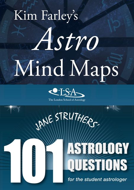 Astro Mind Maps & 101 Astrology Questions, Jane Struthers, Kim Farley