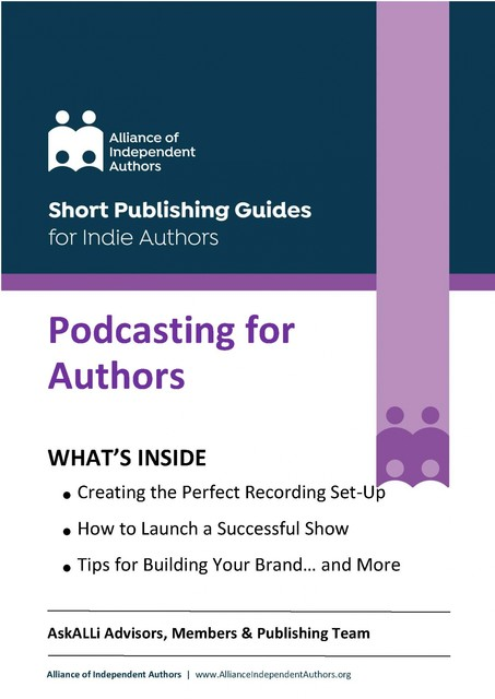 Podcasting for Authors, Alliance of Independent Authors