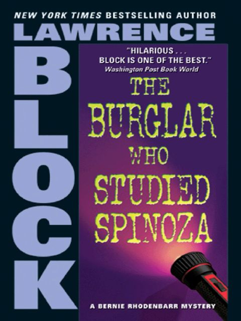 The Burglar Who Studied Spinoza, Lawrence Block