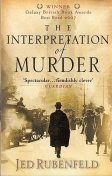 The Interpretation of Murder, Jed Rubenfeld