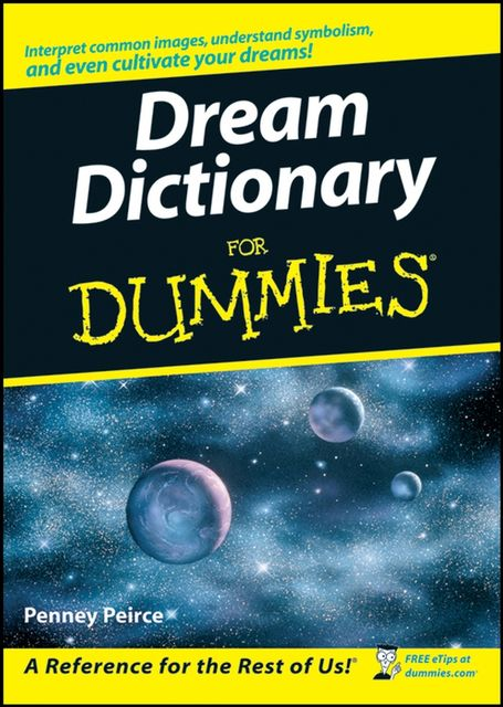 Dream Dictionary For Dummies, Penney Peirce