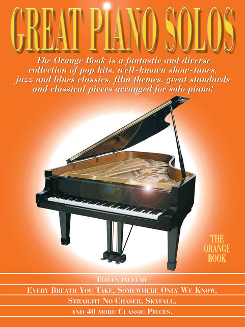 Great Piano Solos – The Orange Book, Wise Publications
