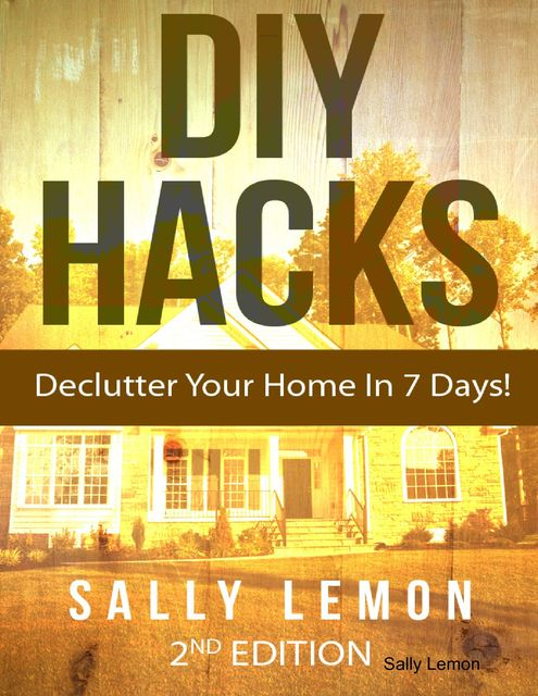 Diy Hacks to Declutter Your Home In 7 Days!, Sally Lemon