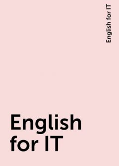 English for IT, English for IT