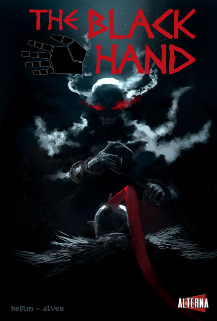 The Black Hand #3, Erica J.Heflin