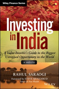 Investing in India, Rahul Saraogi