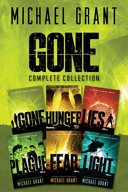Gone Series Complete Collection, Michael Grant