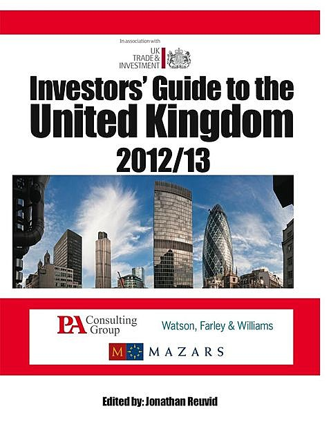 Investors' Guide to the United Kingdom 2012/13, Jonathan Reuvid