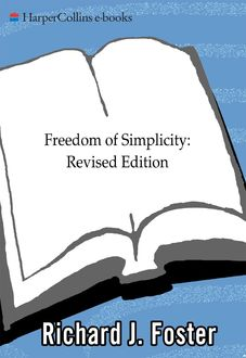 Freedom of Simplicity, Richard Foster