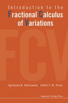 Introduction to the Fractional Calculus of Variations, Agnieszka B Malinowska, DelfimF.M.Torres
